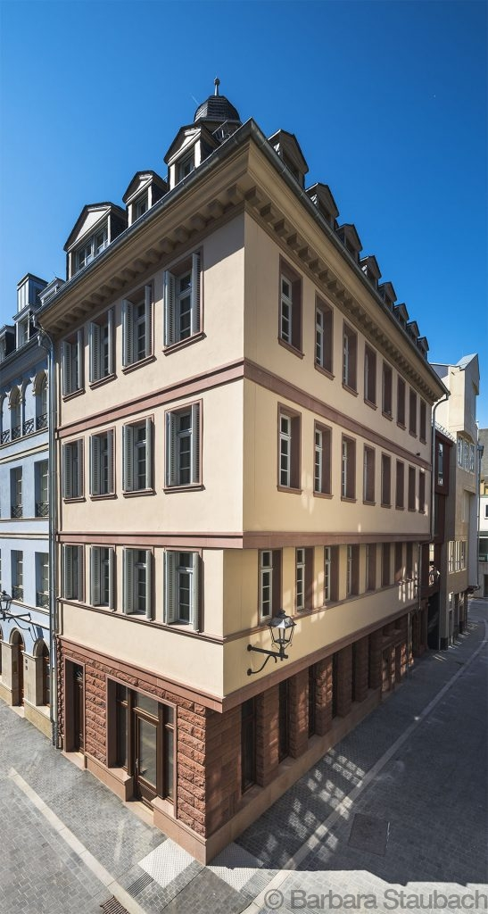 Haus Goldene Schere, Markt 22, Jourdan & Müller Steinhauser PAS, Frankfurt